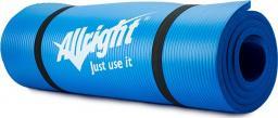 Allright Mata do fitnessu NBR 180x60x1.5 niebieska