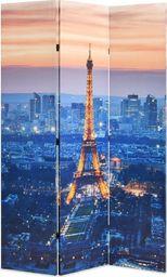 vidaXL Składany parawan, 120x170 cm, motyw Paryża nocą