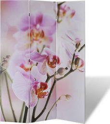 vidaXL Składany parawan, 120x170 cm, motyw kwiatowy