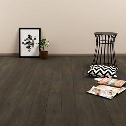 Egger Zatrzaskowe panele podłogowe, 3,51 m, 4 mm, PVC, ciemnobrązowe
