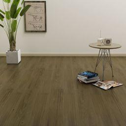 Egger Samoprzylepne panele podłogowe, 4,46 m, 3 mm, PVC, brązowe