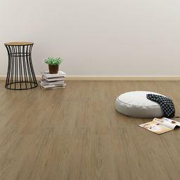Egger Samoprzylepne panele podłogowe 4,46 m, 3 mm PVC naturalny brąz