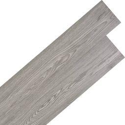 Egger Samoprzylepne panele podłogowe PVC, 5,02 m, 2 mm, ciemnoszare