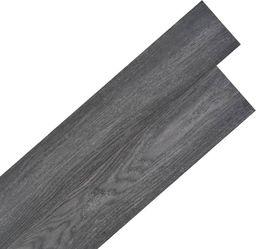 Egger Samoprzylepne panele podłogowe PVC, 5,02 m, 2 mm, czarno-białe