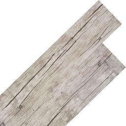 Egger Samoprzylepne panele podłogowe PVC 5,02 m, 2 mm, spłowiały dąb