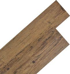 Egger Samoprzylepne panele podłogowe PVC 5,02 m, 2 mm orzechowy brąz