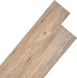 Egger Panele podłogowe z PVC, 5,26 m, 2 mm, dębowy brąz