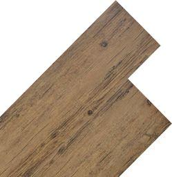 Egger Panele podłogowe z PVC, 5,26 m, 2 mm, orzechowy brąz