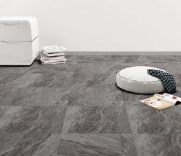 Egger Samoprzylepne panele podłogowe z PVC, 5,11 m, czarne ze wzorem