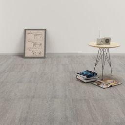 Egger Samoprzylepne panele podłogowe, PVC, 5,11 m, szare, punktowane