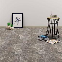Egger Samoprzylepne panele podłogowe z PVC, 5,11 m, czarny marmur