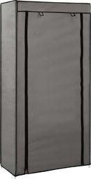 vidaXL Szafka na buty z osłoną, szara, 58x28x106 cm, tkanina