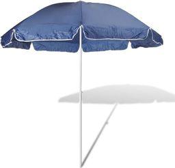 vidaXL Parasol plażowy, niebieski 240 cm