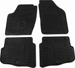 vidaXL Zestaw 4 gumowych dywaników samochodowych do VW Polo