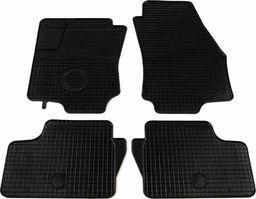 vidaXL Zestaw 4 gumowych dywaników samochodowych do Opla Astra H