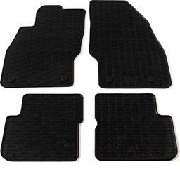 vidaXL Zestaw 4 gumowych dywaników do Mercedes C63 AMG Kombi Klasy C
