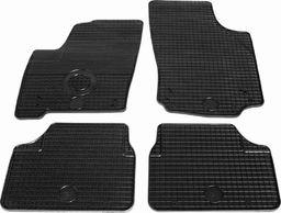 vidaXL Zestaw 4 gumowych dywaników samochodowych do Opla Meriva
