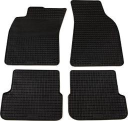 vidaXL Zestaw 4 gumowych dywaników samochodowych do Audi A6 (C6)