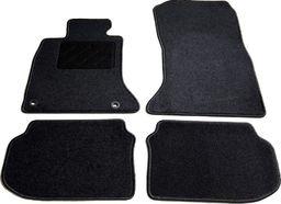 vidaXL Zestaw dywaników samochodowych do BMW F10/F11 serii 5, 4 szt.