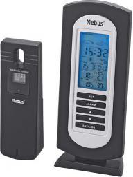 Stacja pogodowa Mebus Wireless Weather Station Czarno-srebrny (40222)