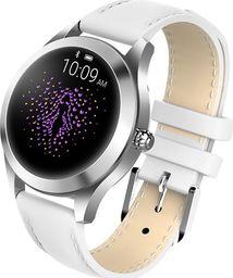 Smartwatch Garett Electronics Naomi Biały  (Naomi biały, skórzany)