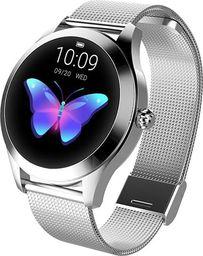Smartwatch Garett Electronics Naomi Srebrny  (Naomi srebrny, stalowy)