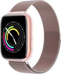 Smartwatch Garett Electronics Eva Różowy  (Eva różowy, stalowy )