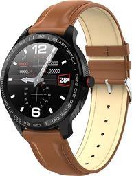 Smartwatch Garett Electronics Men 3S Brązowy  (Men 3S brązowy, skórzany)