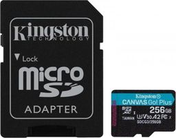 Karta Kingston Canvas Go Plus Micro-SD 256GB  (SDCG3/256GB)