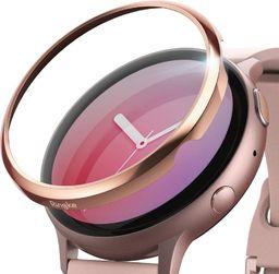 Ringke Nakładka Ringke Bezel Styling Samsung Galaxy Watch Active 2 40mm stal nierdzewna różowy połysk GWA2-40-02