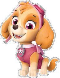 Nickelodeon Dekoracja ścienna Psi Patrol - Skye