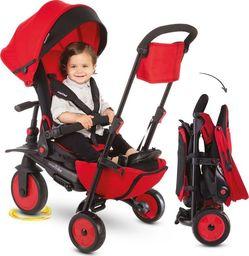 Wózek Smart Trike Składany rowerek dziecięcy/wózek 8w1 czerwony (STR7)