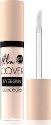 BELL Bell Korektor intensywnie kryjący w płynie Ultra Cover Eye & Skin nr 01 Light Ivory  5g
