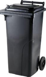 Europlast Pojemnik kubeł na odpady i śmieci ATESTY Europlast Austria - czarny 120L