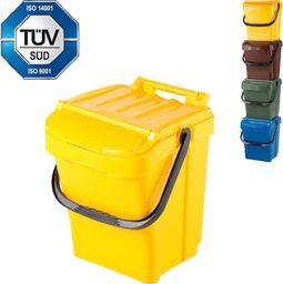Kosz na śmieci Sartori do segregacji żółty (7203-4)