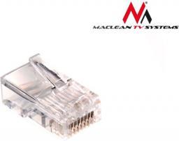 Maclean Wtyk RJ45 8P8C 5e drut (MCTV-662) 100 szt
