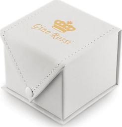 Gino Rossi Prezentowe pudełko na zegarek - GINO ROSSI eko 2 BIAŁE uniwersalny