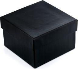 Prezentowe pudełko na zegarek - czarne uniwersalny