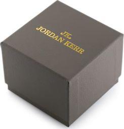 Jordan Kerr Prezentowe pudełko na zegarek - JORDAN KERR - szare/złote uniwersalny