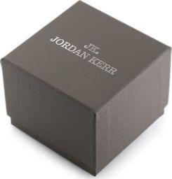 Jordan Kerr Prezentowe pudełko na zegarek - JORDAN KERR - szare/srebrne uniwersalny
