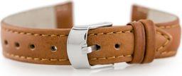 Pacific Pasek skórzany do zegarka W83 - brązowy - 12mm uniwersalny