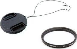 Filtr Seagull ZESTAW OCHRONNY FILTR UV + DEKIELEK na 58mm 58 mm