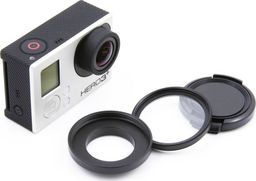 Filtr Xrec Zestaw ochronny 3w1 (Adapter 37mm / Filtr UV / Dekielek) do GoPro HERO 4 3+ 3