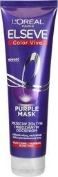 L'Oreal Paris Elseve Color-Vive Purple Maska do włosów przeciw żółtym i miedzianym odcieniom 150ml