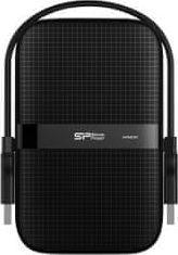 Dysk zewnętrzny Silicon Power HDD Armor A60 1 TB Czarny (SP010TBPHDA60S3A)