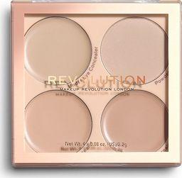 Makeup Revolution REVOLUTION Matte Base Concealer Kit C1-C4