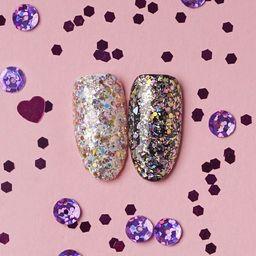 Hi Hybrid Hi Hybrid Glam Brokat na paznokcie #507 Pink Gold Glitter  1.3g