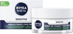 Nivea Nivea Men Krem do twarzy Sensitive 48h nawilżenia - skóra podrażniona  50ml