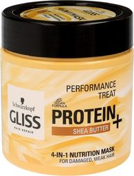 Schwarzkopf Gliss Hair Repair Protein+ Maska do włosów 4in1 odżywcza Shea Butter 400ml