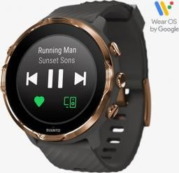 Smartwatch Suunto 7 Graphite Copper Szary  (SS050382000)